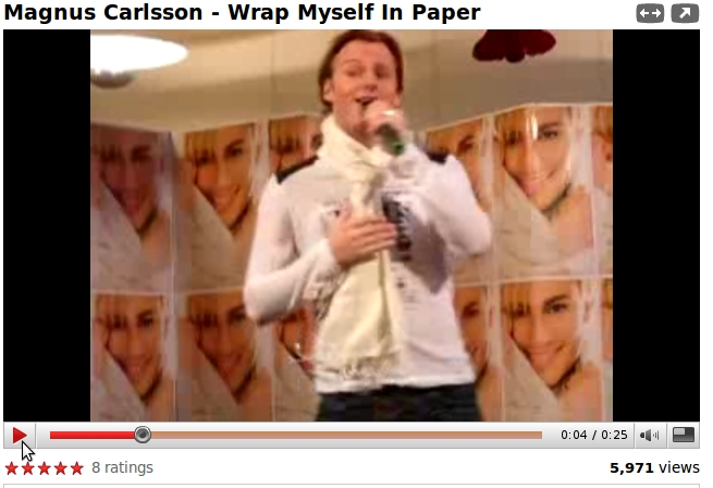 Magnus Carlsson from Youtube