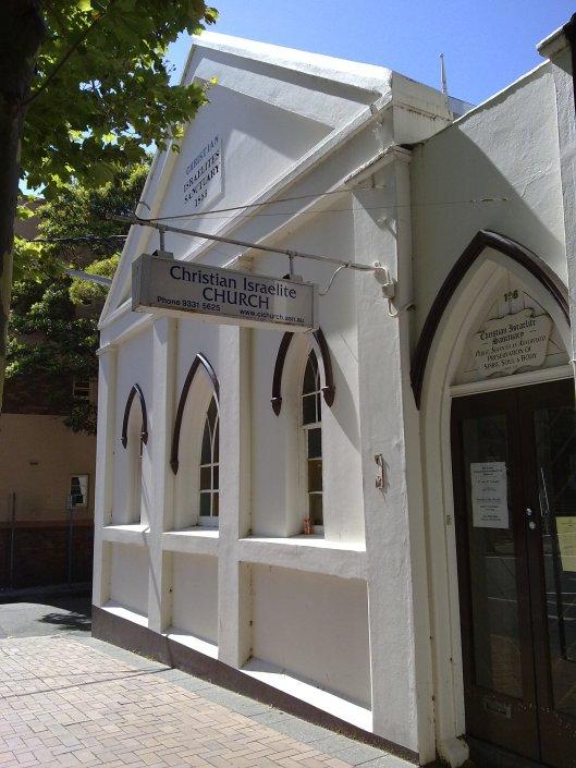 Christian Israelite Church, Campbell Street, Surry Hills