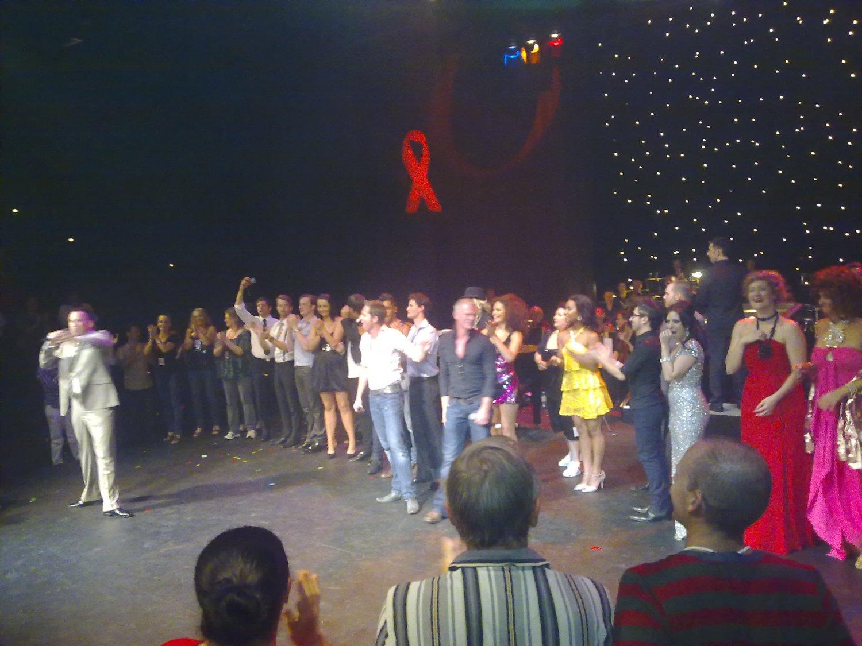 Elton John AIDS Tribute at Seymour Centre, Sydney