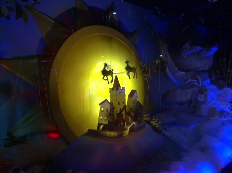 David Jones Christmas Window
