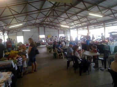 Farmers Market at Lismore Showground