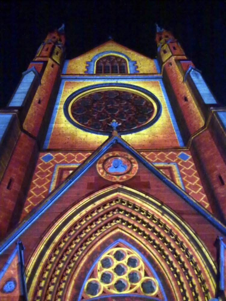 St Marys Cathedral for Christmas