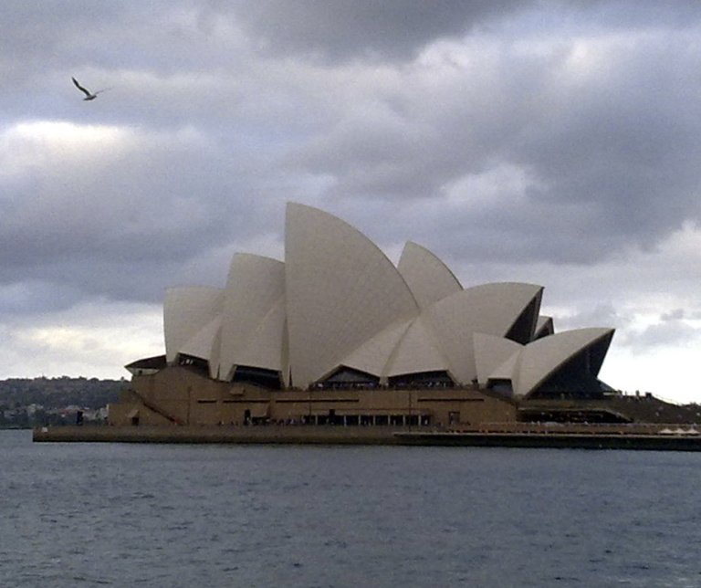 Sunday night at Sydney Opera House