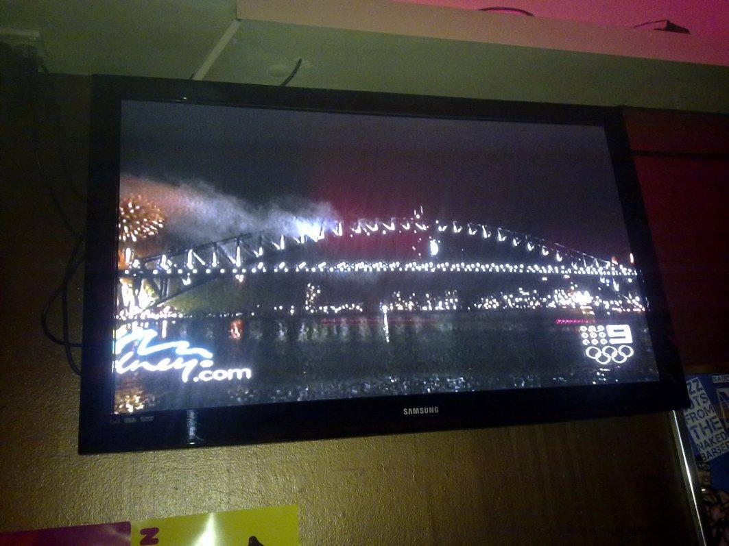 Sydney Fireworks 2009-2010