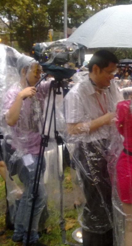 Media seeks cover