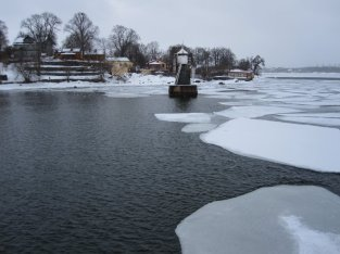 Stockholm winter tour nearing the ice