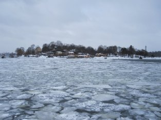Stockholm winter tour ice