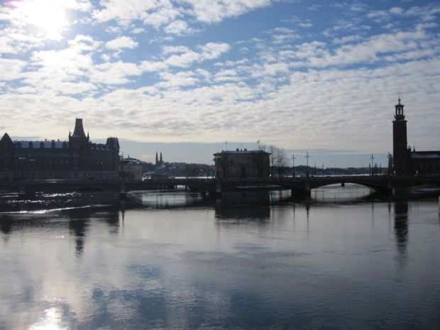 You would never know it how cold and frozen Stockholm was last week