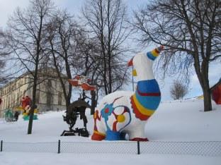 Sculptures on Skeppsholmen