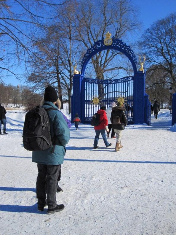 The gates on Djurgarden