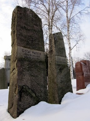Cemetery in Norrkoping
