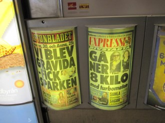 The news from Sweden