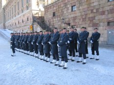 Changing of the guard - you know Noel they have all been counted.