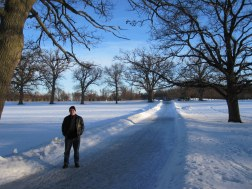 In the grounds of Drottningholm Castle