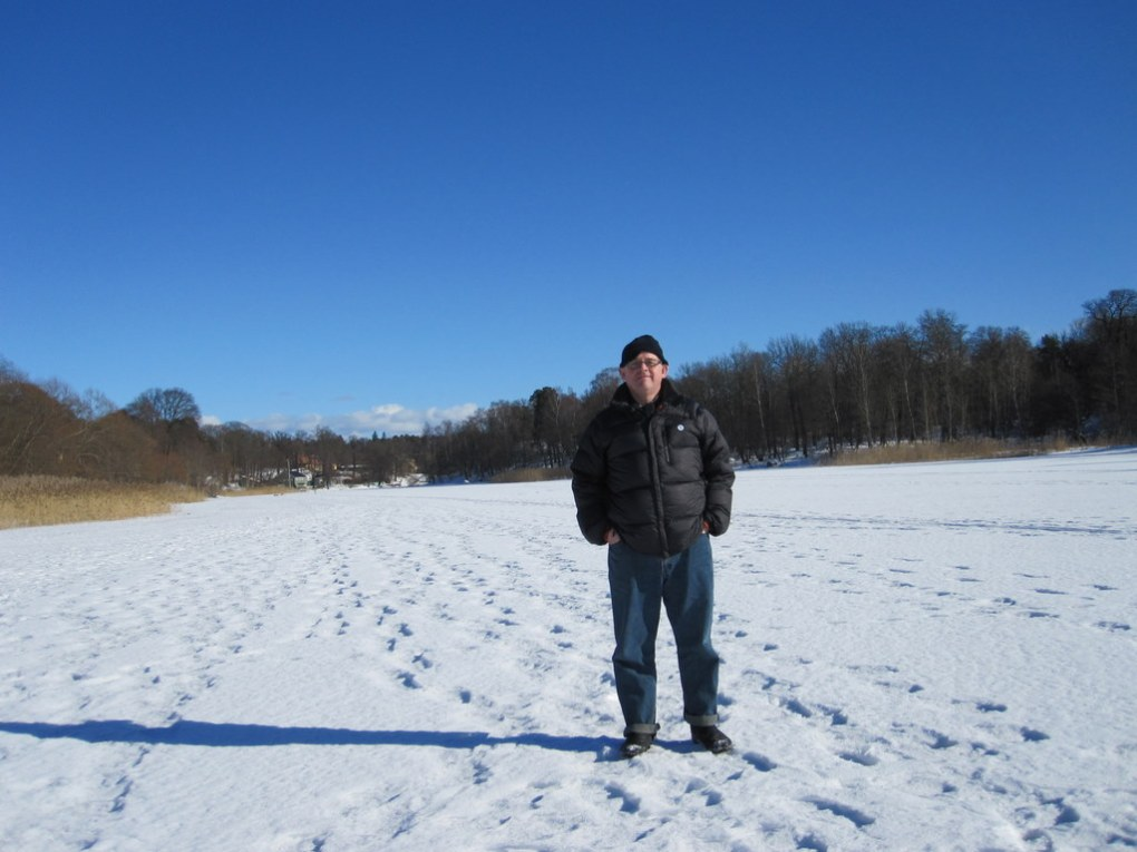 Walking on thick ice
