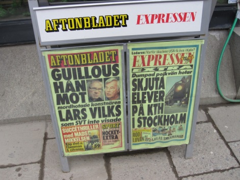The news from Sweden today