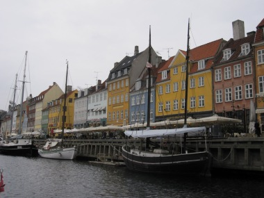 Copenhagen from the canal