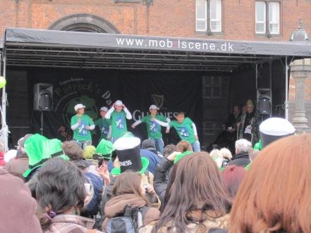 The irish national day celebrated in Copenhagen