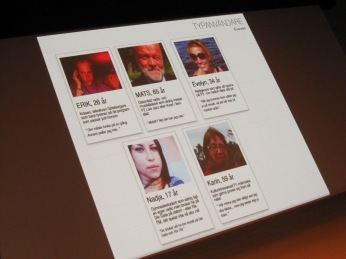 Some of the psycho-social profiles they did in reworking Swedish radio website