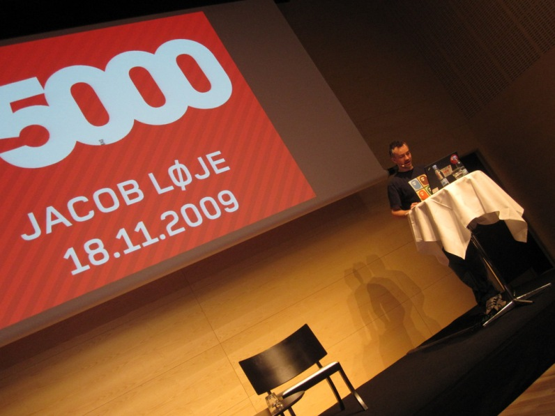 Jacob Loje from Danish radio station P5000