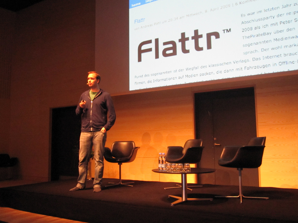 Pirate Bay co-founder talks about his new project, Flattr