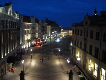 Helsingborg at night
