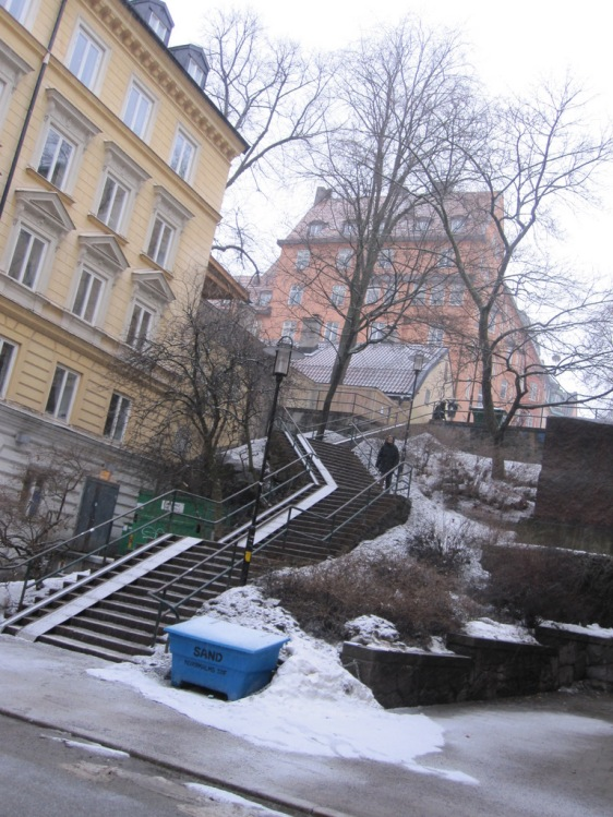 The difficult staircase I need to climb