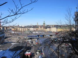 Stockholm viewed from Sodermalm