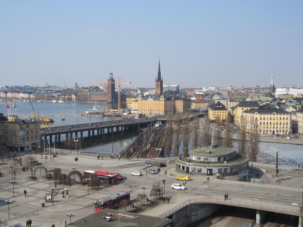 View from Katarinahissen Week 3