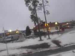 Road between Gavle and Sandviken