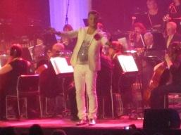 Magnus Carlsson at ABBA tribute in Sandviken