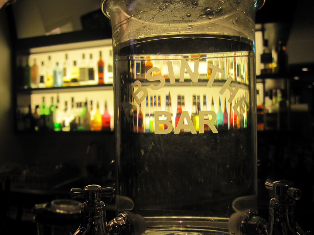 Absinthe Bar at The Clarion in Gavle