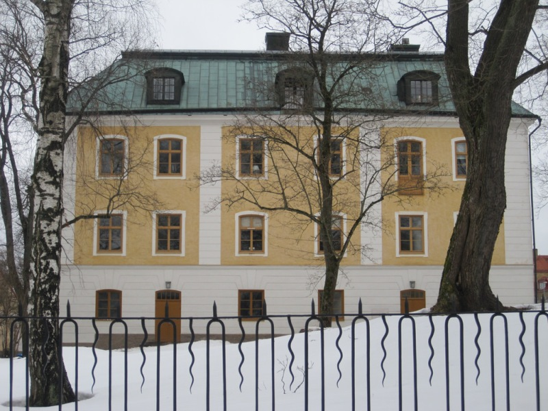 Gavle Castle - now home to the county governor