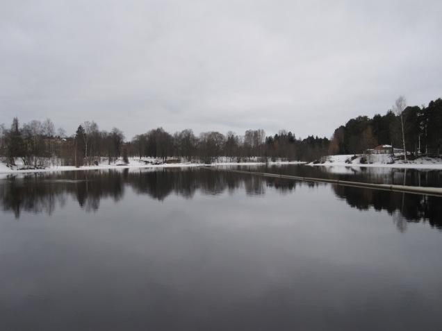 The river in Gavle