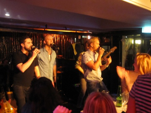 Schlager band with Gabriel Forss from Blond