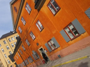 Drottninghuset dating back to 1686