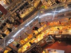 Food hall at Medborgarplatsen