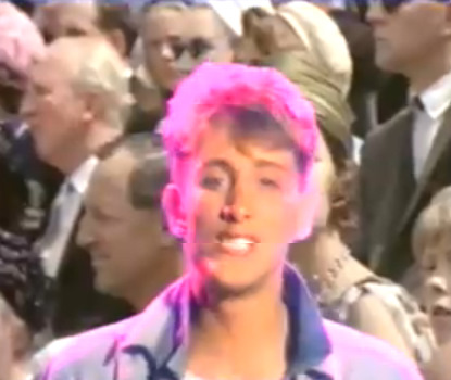 Late 80s pop band, Blue Mercedes