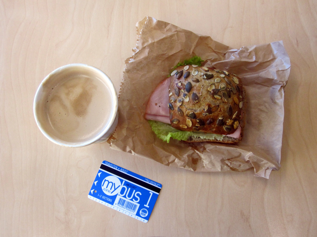 Regular Purchases - coffee, bread, bus pass