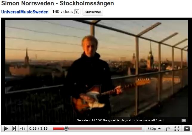 Simon Norrsveden - Stockholmssången