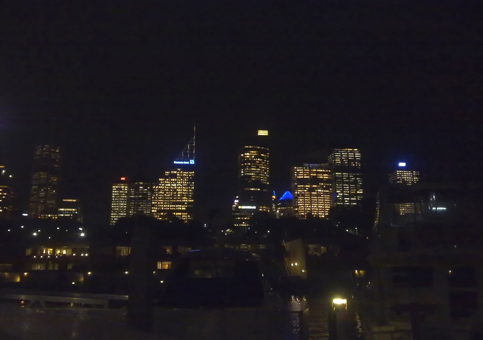 Sydney viewed from Finger Wharf
