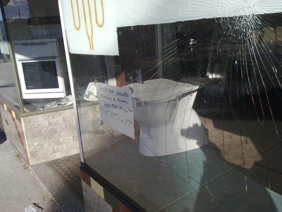 Hurlstone Park Shop Window