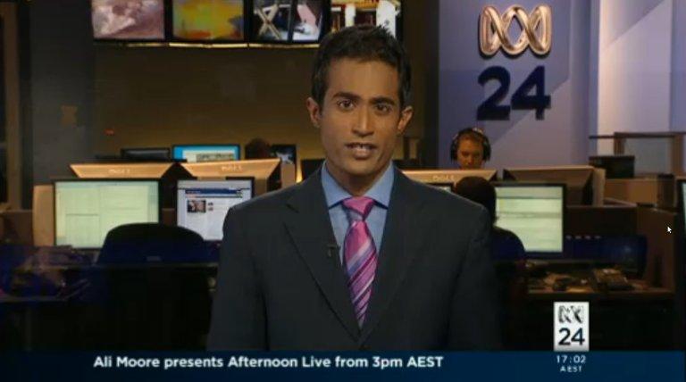 Jeremy Fernandez on ABC News 24