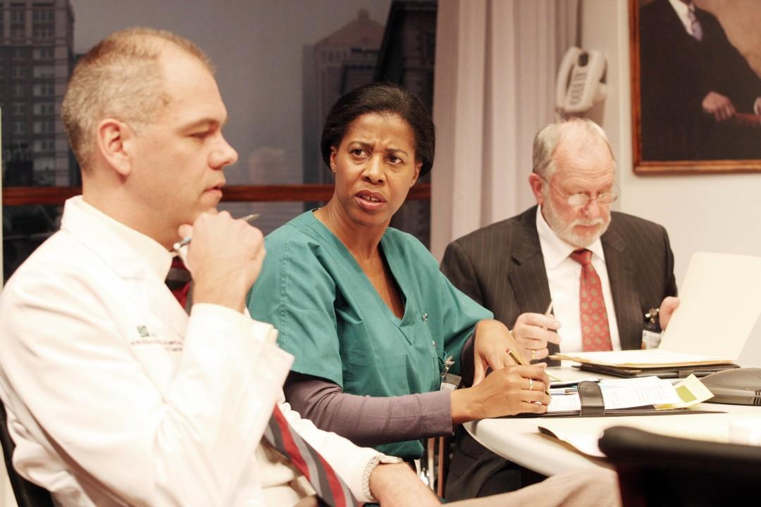 Duncan Young, Pamela Jikiemi and Robert Alexander