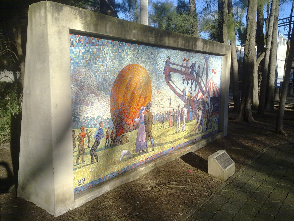 Wimbo Park Mural, Surry Hills