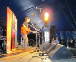 Neil Murray performs during Saturday Night Country stage show