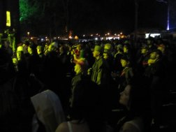Crowd watches main stage at Gympie Muster