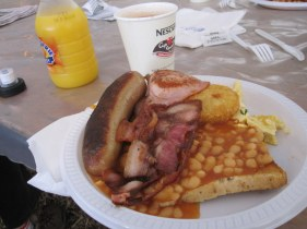 Breakfast, including milo