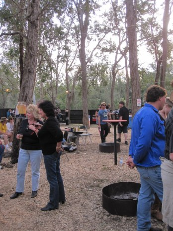 One of the outdoor bars, The Grove