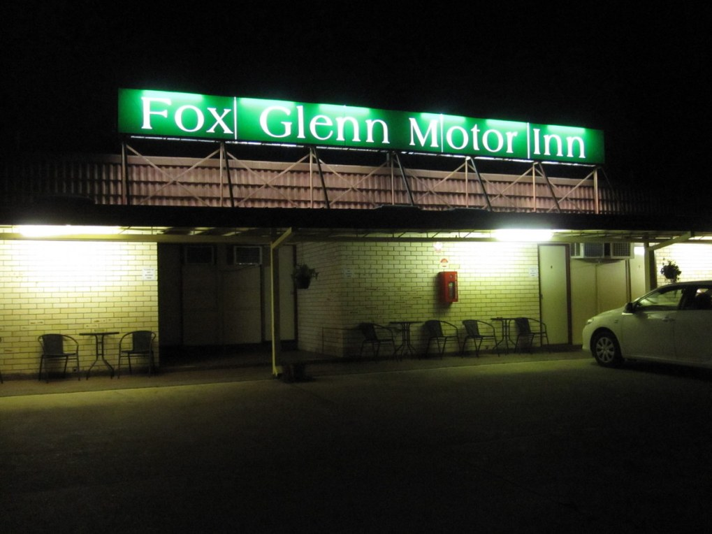 Back at home at the Fox Glenn on the Bruce Highway